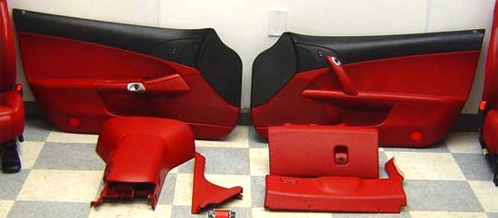 corvette z06 ron fellows interior upgrade. Black Bedroom Furniture Sets. Home Design Ideas