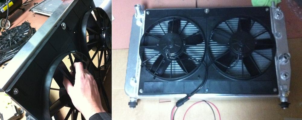 Radiator  U0026 Fan Upgrade
