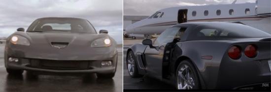 Human Target - Chance's Corvette